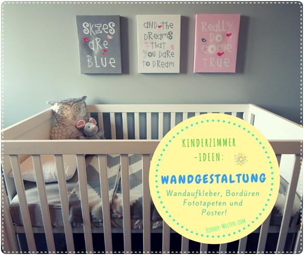 Baby- und Kinderzimmer Wandgestaltung