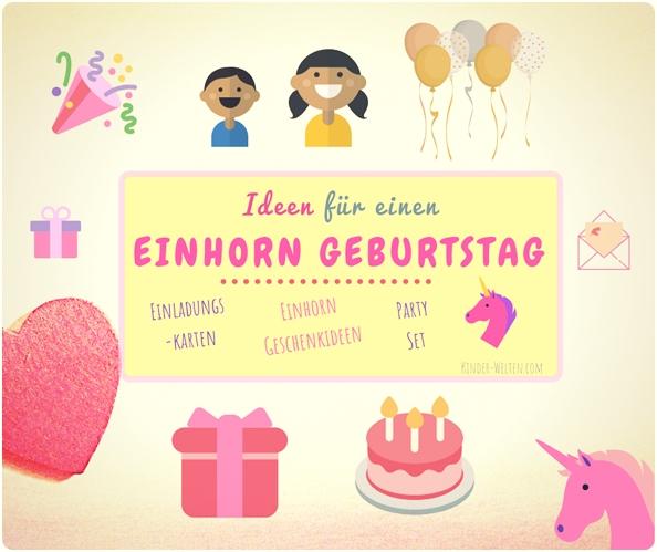 Einhorn Geburtstag