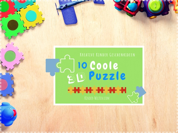 3d Puzzle für Kinder
